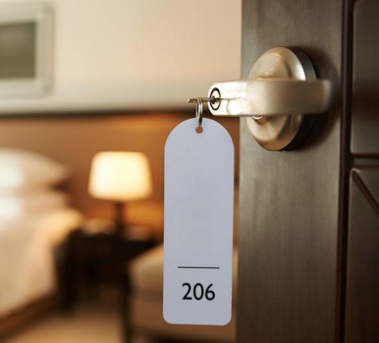 A hotel room door - Boyd Insurance