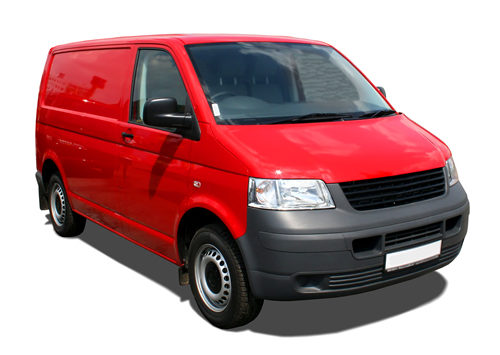A Red Van. Vans like this an be insured by Boyd Insurance.
